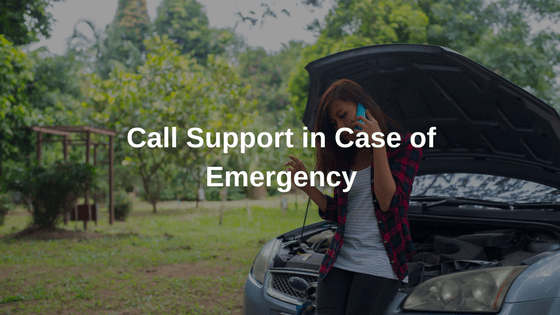 Call support in case of emergency-transync GPS trackers Benefits